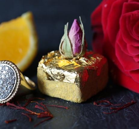 Safran Orange Rose & Gold